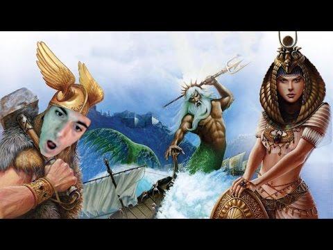 Ice Poseidon plays Age of Mythology #2 [VOD: 12-11-2016]