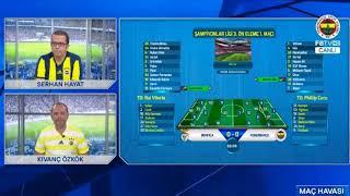 Benfica 1-0 Fenerbahçe | Cervi'nin golü anında FB TV