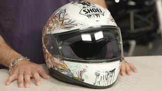 Shoei RF-1200 Graffiti Helmet Review at RevZilla.com