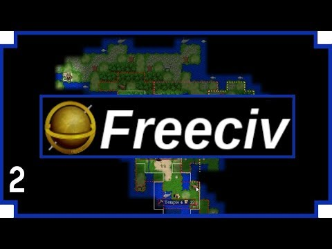 "FreeCiv - part 2 - ""The Apache - American Alliance"""