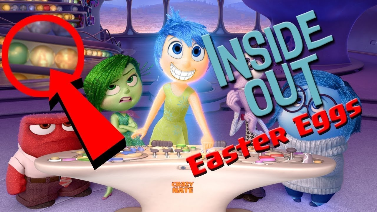Inside Out Easter Eggs, & The ...