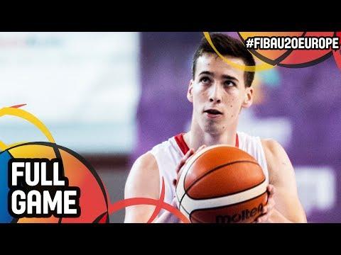 Croatia v Portugal - Full Game - FIBA U20 European Championship 2017 - DIV B