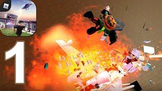Roblox - Survive a Plane Crash - Gameplay Walkthrough Part 1 (Android,iOS)