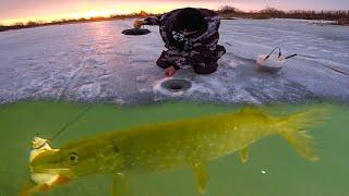 Рыбалка на жерлицы с подводными камерами в весной 2021