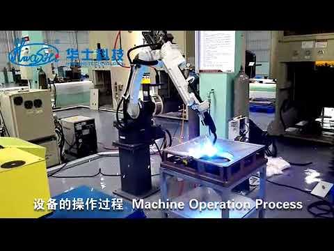 6 AXIS TIG / MIG Welder Industrial Welding Robots , Arc Welding Robotic Arm
