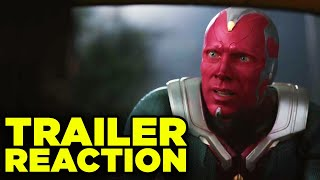 WANDAVISION TRAILER REACTION! Marvel Disney+ Series Explained!