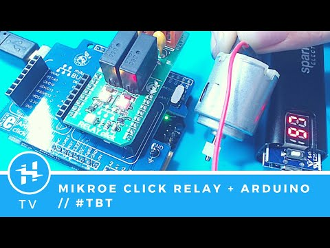 Mikroe Click Relay With Arduino 101 // #TBT