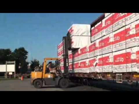 Strasburg Rail Road freight operation