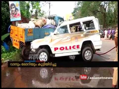 3 Police men injured in Accident near Kottarakkara | FIR 28 Nov 2016