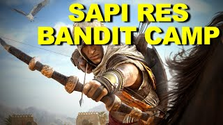 "AC Origins - ""Sapi Res Nome"" [REGION] Bandit Camps Guide & Completion ☑️"