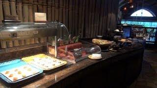 Disney's Animal Kingdom Lodge Kilimanjaro Concierge Club Lounge Tour - Dinner and Dessert Hours