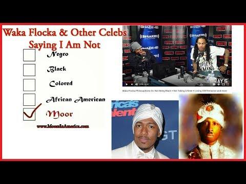 Waka Flocka and Other Celebs Saying I Am Not Black | Waking Up
