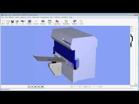 Radbend 3D & 2D Press Brake Offline Software Overview