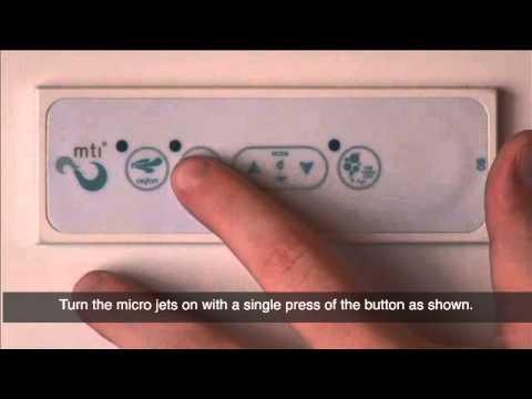 Mti Baths Keypad 8 Operation Of Air Massage Air Bath