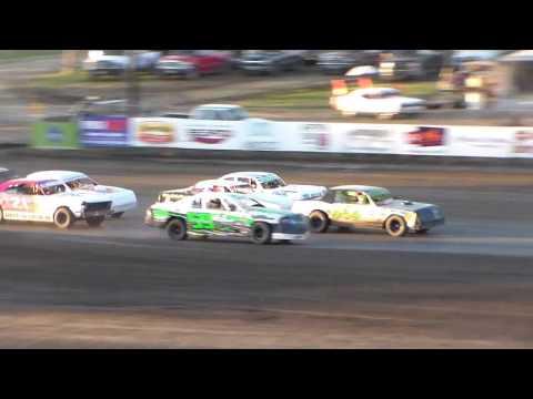Dacotah Speedway Wissota Street Stock B-Mains (Governor's Cup Night #2) (7/30/16)
