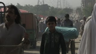 Pakistan cities gasp for clean air
