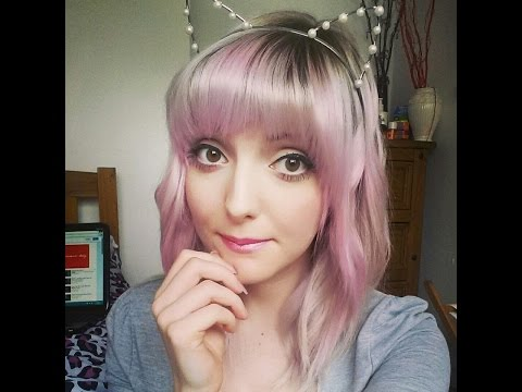 Pastel Pink and Silver Hair