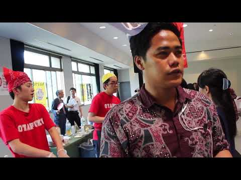 #Kulinervlog 01 - Okonomiyaki Halal Food Festival Hiroshima University