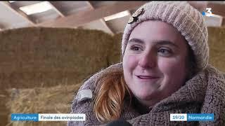 Ovinpiades : deux lycéens d'Yvetot représenteront la Normandie au Salon de l'Agriculture à Paris