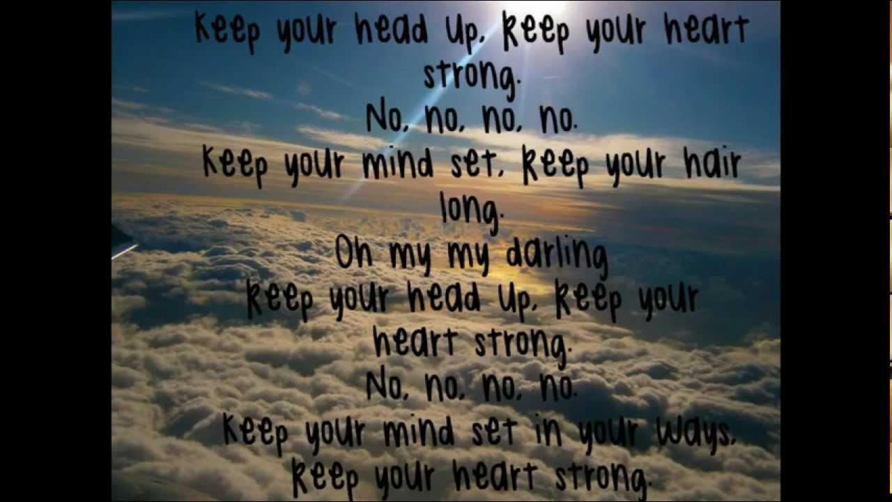 The head i hold lyrics