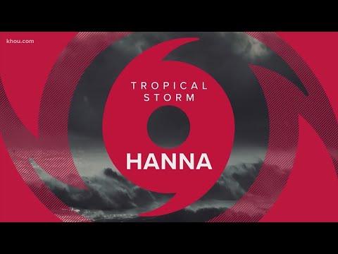 Tropical Storm Hanna is strengthening as it heads toward Texas ...