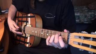 Обзор на советскую гитару.