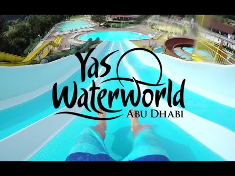 GETTING SOAKED AT YAS WATERWORLD IN ABU DHABI !!!