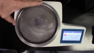 Powdered Sugar Particle Size Analysis wi