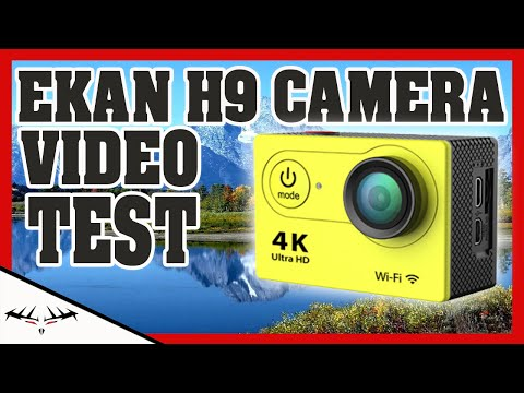 EKEN H9 1080p VIDEO TEST OUTSIDE | CHEAP EBAY ACTION CAMERA | FIRST IMPRESSION VIDEO