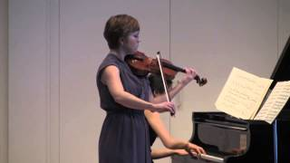 Mozart Violin Sonata in G Major, K.379, Mov
