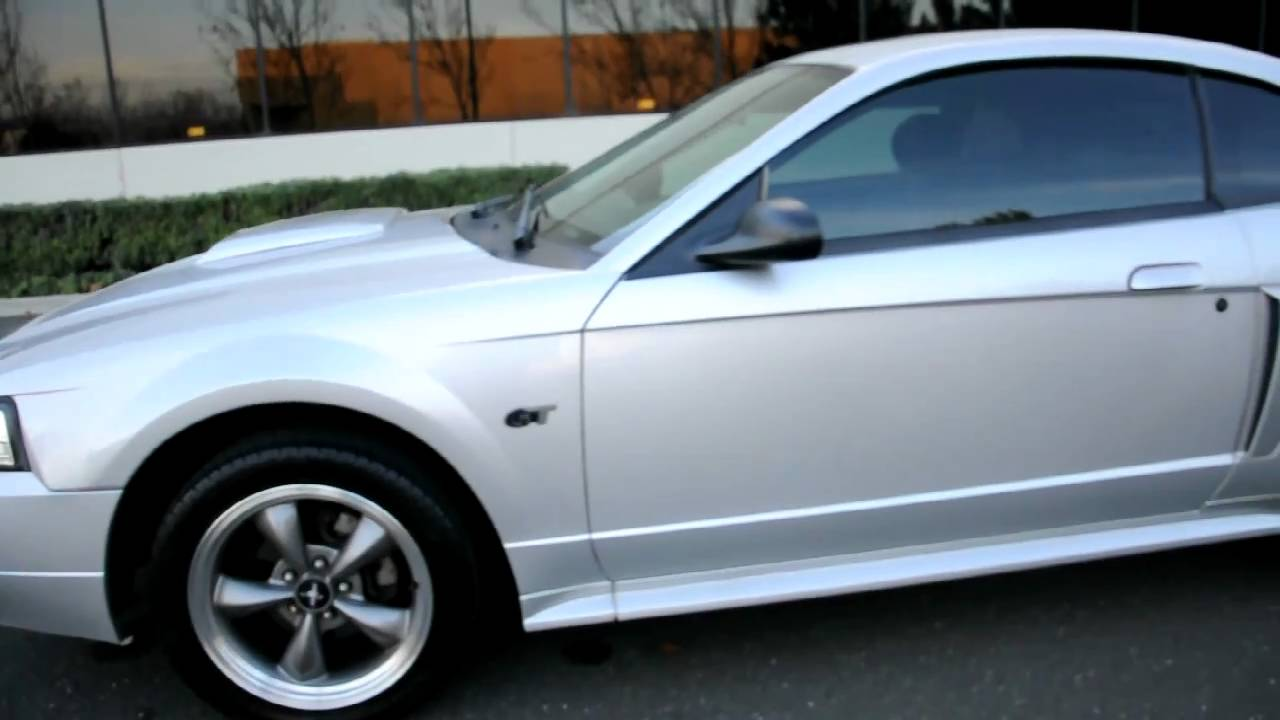 2003 Ford Mustang Gt 4 6 V8 Silver Champion Auto 510