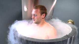 Appetite for Cold: Cryotherapy treatment helps athletes recover