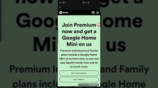 How To Get a Google Home Mini Fo Free with Spotify