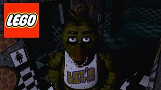 how to build lego freddy bonnie chica and foxy s heads from fnaf part 3 chica hd