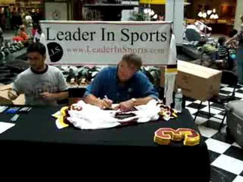 Mark Moseley Autograph Event with LeaderInSports.com