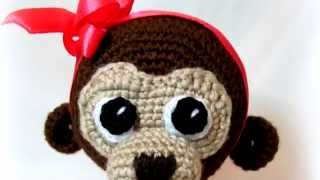 Амигуруми: схема Обезьянки. Игрушки вязаные крючком! Free crochet patterns. Free crochet patterns.