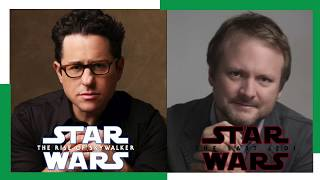 "JJ ABRAMS ADDRESSES ""FIXING"" THE LAST JEDI!"