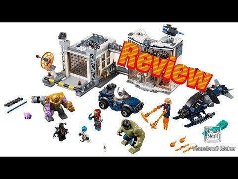 LEGO Avengers compound battle set Review