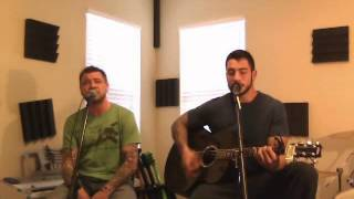 Aaron Lewis Staind Right Here Waiting Acoustic Vocal Guitar Cover