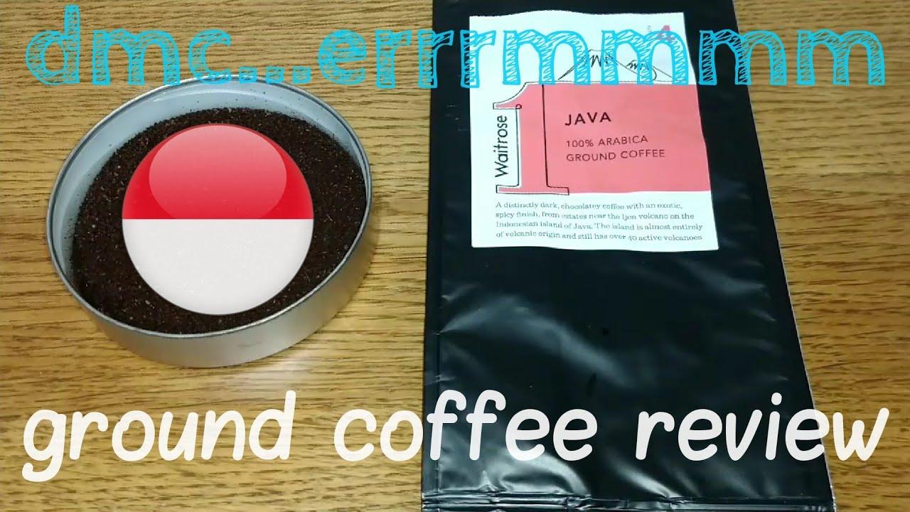 Waitrose 1 Java Ground Coffee Review