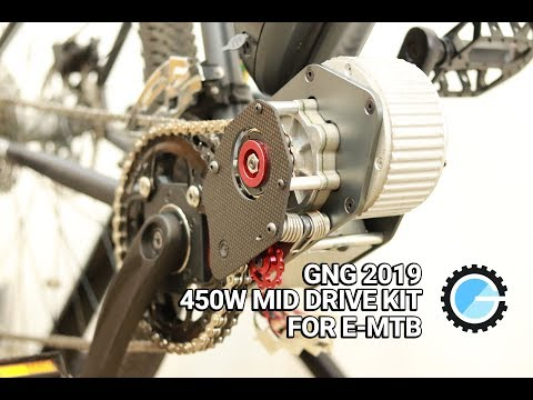 GNG 450RE 2019 Latest Motor System Installation Guide: Convert Your MTB Into E-MTB Instantly