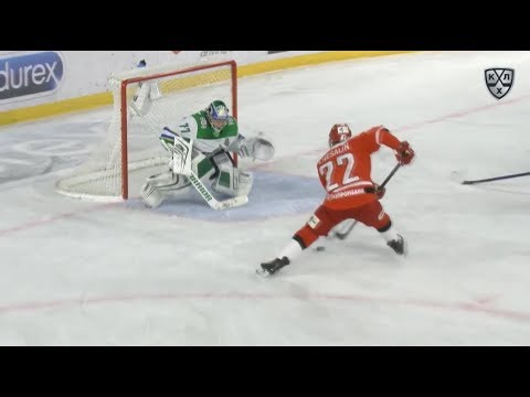Самые яркие моменты второго раунда плей-офф. Автомобилист - Салават Юлаев.