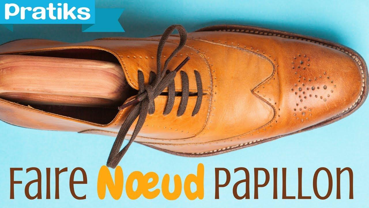 Astuce Chaussures Papillon Comment Faire Noeud Un Nnvm08wO