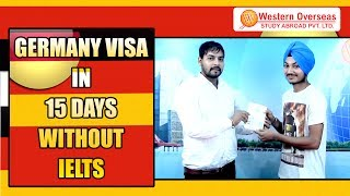 Germany Visa Success in 15 Days - Without IELTS