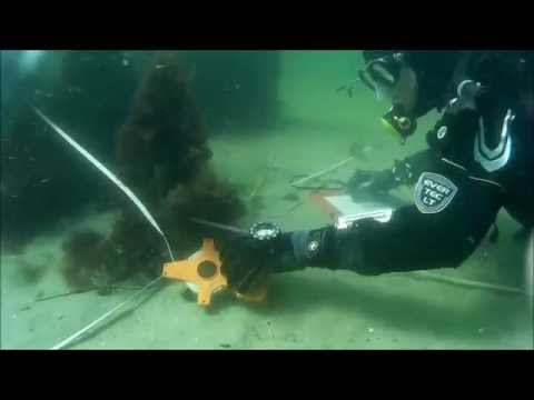 Archaeologic survey of underwater structures from the 16-17th century
