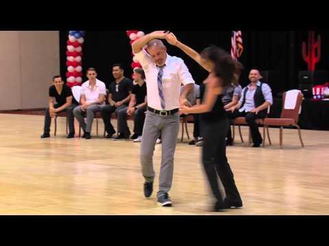 1st Place Champions West Coast Swing, Robert Royston & Torri Smith-2015 Phoenix 4th of July