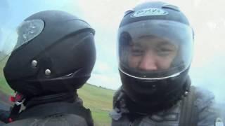 Дальняк Украина-Беларусь-Россия вдвоём на скутере Piaggio X9 250. Часть1.