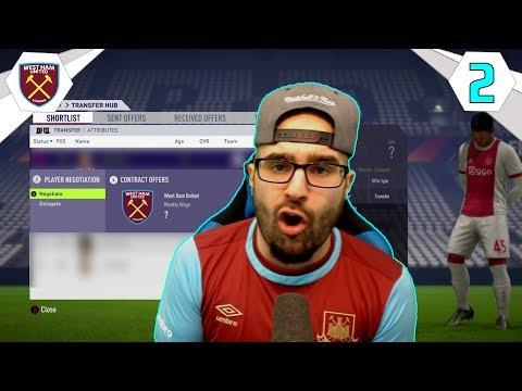 WTF WE WILL MAKE MILLIONS ON THIS PLAYER!!! - FIFA 18 WEST HAM CAREER MODE