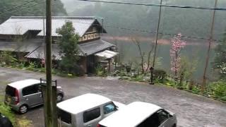 佐賀県武雄市北方、民家を移築したレストラン.