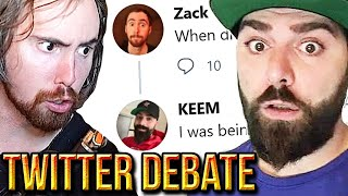 Asmongold VS Keemstar On Online Harassment - The Problem With LivestreamFail